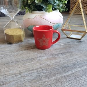 STARBUCKS | 2018 3 ounce Red Espresso Mug